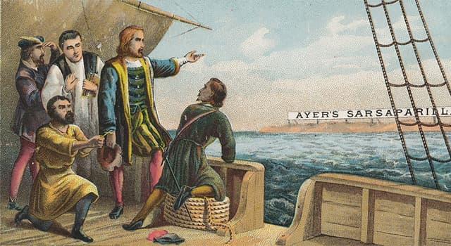 historia Pytanie-Ciekawostka: Kto według historii odkrył Amerykę?