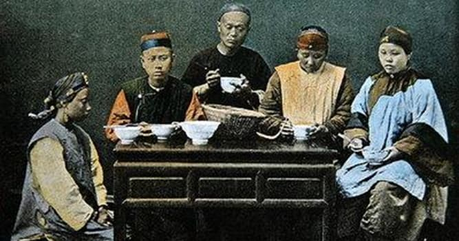 History Trivia Question: Up until 1911, Chinese males had to wear what as a symbol of submission?