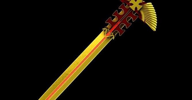 Культура Вопрос: Как назывался меч мага Гэндальфа, одного из центральных персонажей произведений Джона Р. Р. Толкина?
