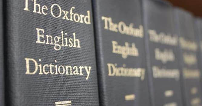 """Cultura Pregunta Trivia: ¿Qué significaba la palabra """"Score"""" en el Inglés antiguo?"""