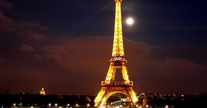 История Вопрос: В каком году была построена Эйфелева башня?