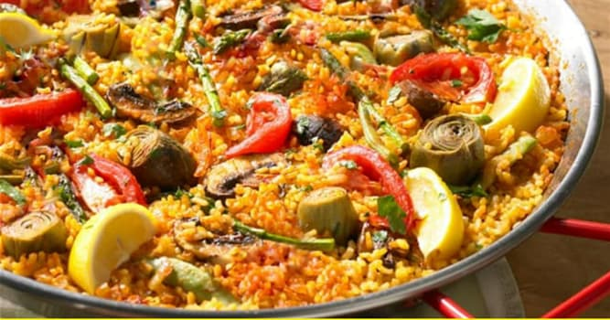 """Kultura Pytanie-Ciekawostka: Z jakiego kraju pochodzi danie ryżowe o nazwie """"paella""""?"""