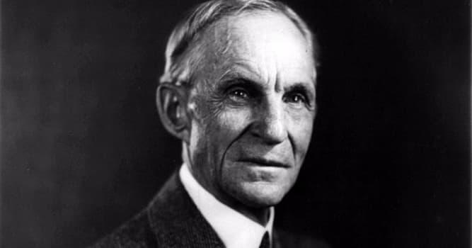 Общество Вопрос: Что изобрёл Генри Форд?