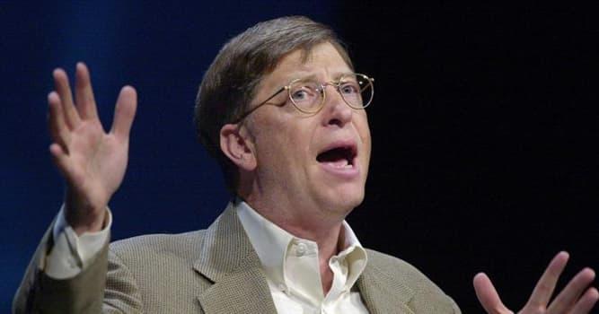 Общество Вопрос: Какую компанию основал Билл Гейтс?
