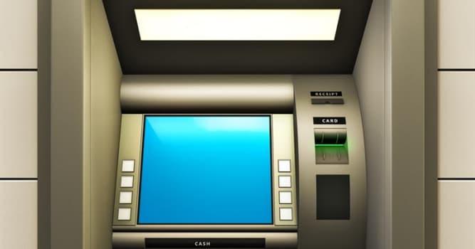 История Вопрос: В этот день был установлен первый банкомат