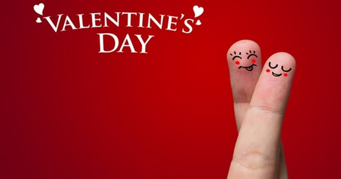 Geography Trivia Question: What flower is the common symbol of Valentine's Day?