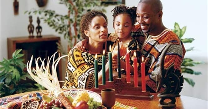 Culture Trivia Question: What is the name of a week-long holiday honoring African culture and traditions?