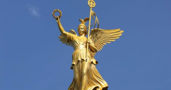 History Trivia Question: Which of these companies takes its name from the Greek goddess of victory?