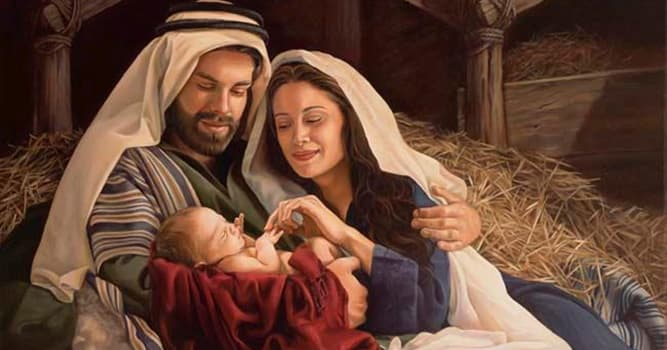 Culture Trivia Question: Who was Jesus' mother and earthly father?