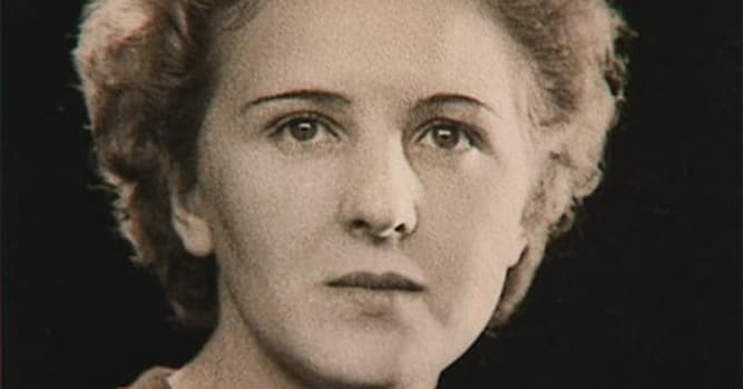 History Trivia Question: Whom did Adolf Hitler marry in 1945?