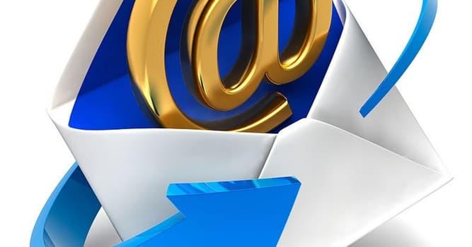 """Gesellschaft Wissensfrage: Wofür steht ein """"E"""" in der """"E-Mail""""?"""