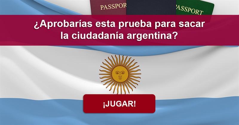 Geografía Quiz Test: ¿Aprobarás este test sobre Argentina?