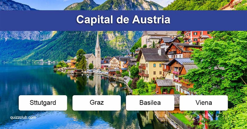 Geografía Quiz Test: Capitales del mundo