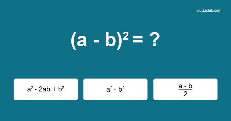Сiencia Quiz Test: ¿Puedes recordar las fórmulas que teenseñaron enlaescuela?