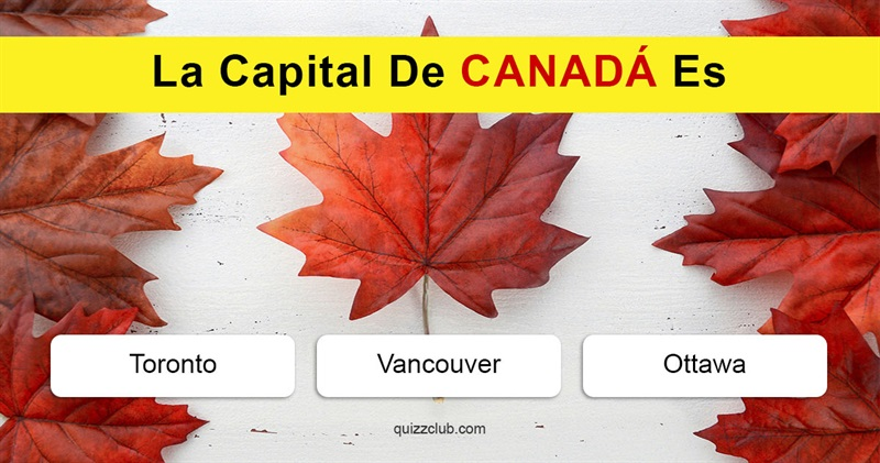 Geografía Quiz Test: ¿Podrás nombrar las capitales deestos países?