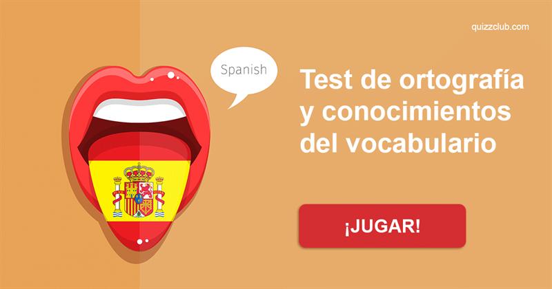 Coeficiente intelectual Quiz Test: Test de ortografía y conocimientos del vocabulario