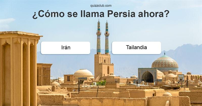 Geografía Quiz Test: ¿Sabes cómo sellamaban las ciudades ylos países modernos enlaantigüedad?