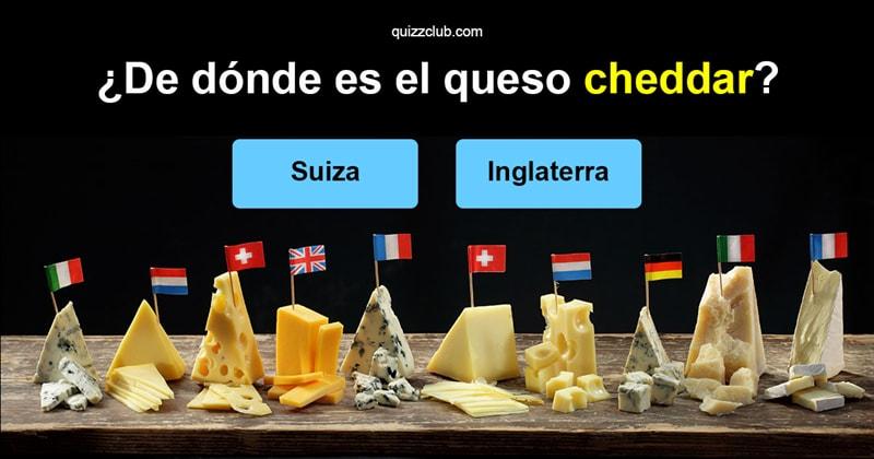 Cultura Quiz Test: ¿Cuánto sabes sobre queso?