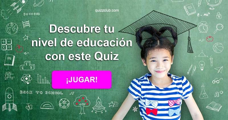 Cultura Quiz Test: Descubre tu nivel de educación con este Quiz