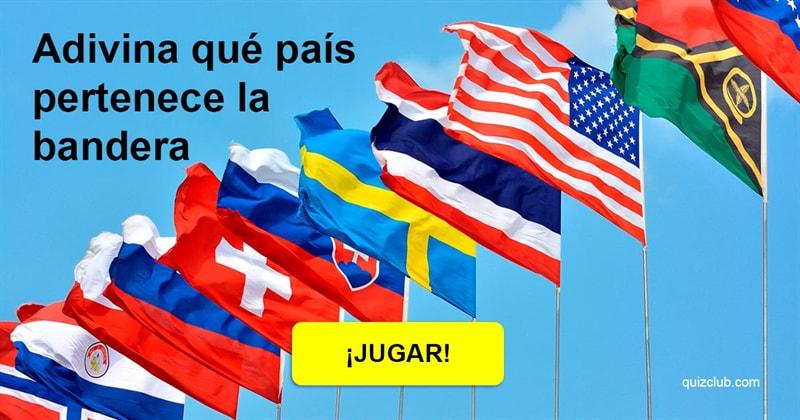 Geografía Quiz Test: Su cociente intelectual es 146 o más alto si puede identificar estos 25 países por sus banderas