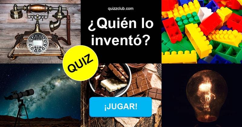 Сiencia Quiz Test: ¿Quién lo inventó?