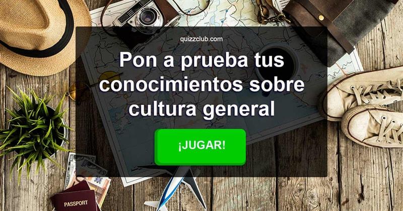 Cultura Quiz Test: Pon a prueba tus conocimientos sobre cultura general