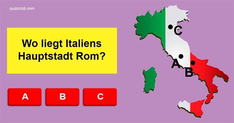 Geographie Quiz-Test: Wo genau liegen die Hauptstädte dieser 12 Länder?