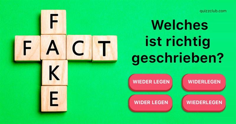Quiz-Test: Können Sie diese Wörter richtig buchstabieren?