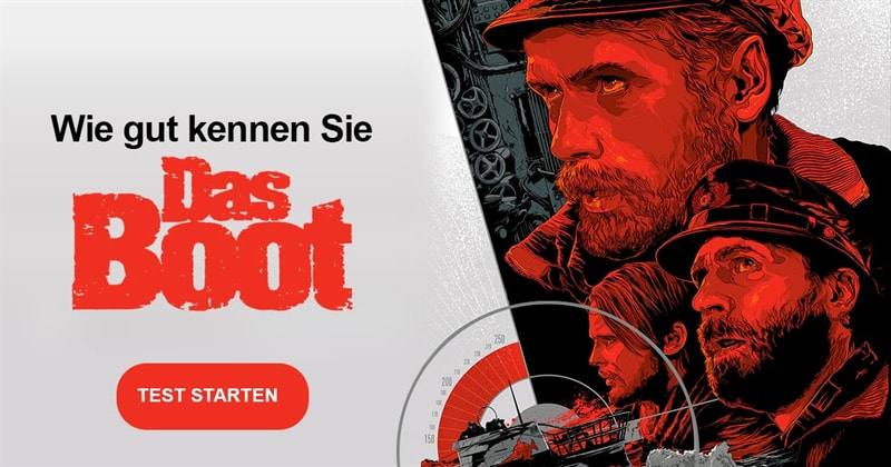Kultur Quiz-Test: Das Boot – 10 Fragen zum Film-Klassiker