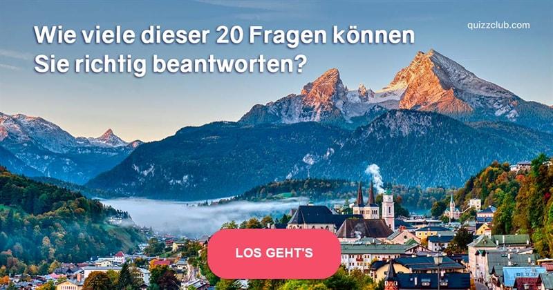 Geographie Quiz-Test: Deutschland-Quiz!