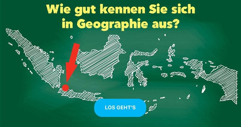 Geographie Quiz-Test: Erdkunde-Quiz:  Welche Städte wo liegen?