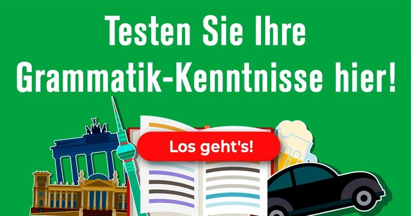 Sprache Quiz-Test: Nur Genies bestehen diesen Deutsch-Test!
