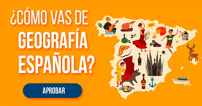 Geografía Quiz Test: ¿Cómo vas de geografía española?