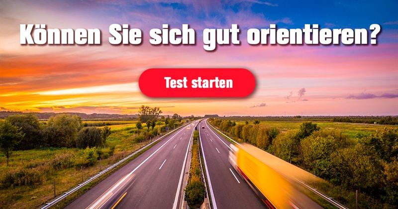 Geographie Quiz-Test: Wie gut kennen Sie sich auf deutschen Autobahnen aus?