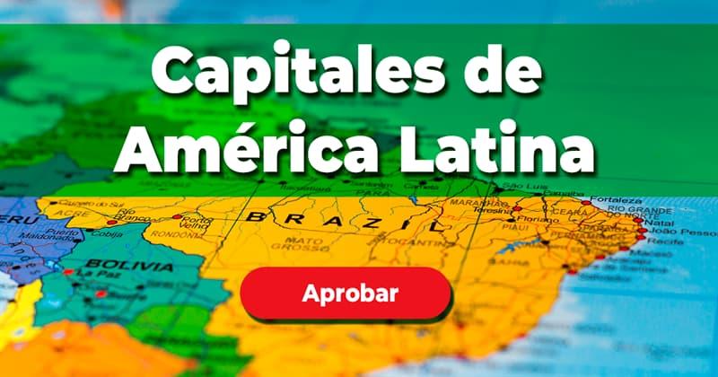 Geografía Quiz Test: Capitales de América Latina