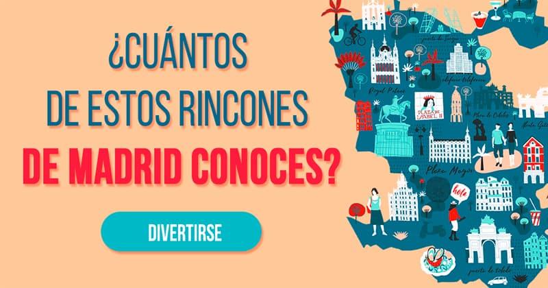 Geografía Quiz Test: ¿Cuántos de estos rincones de Madrid conoces?