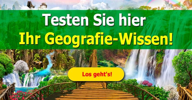 Geographie Quiz-Test: Geografie-Quiz: Diese 14 Fragen über Stadt, Land, Fluss sind richtig schwierig!