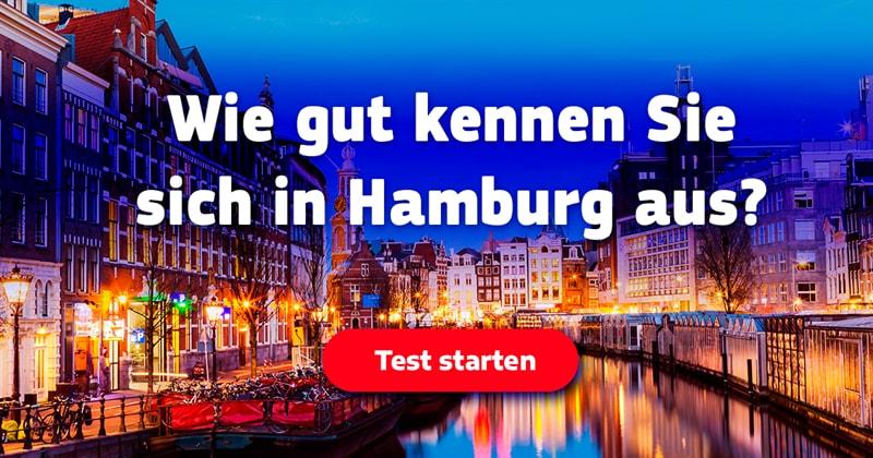 Geographie Quiz-Test: Hamburg-Quiz