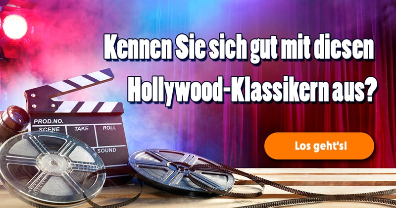 Film & Fernsehen Quiz-Test: Hollywood-Quiz