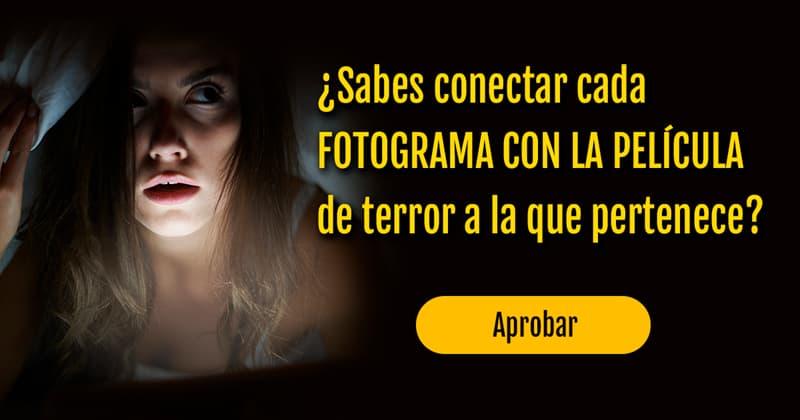 Películas Quiz Test: ¿Sabes conectar cada fotograma con la película de terror a la que pertenece?