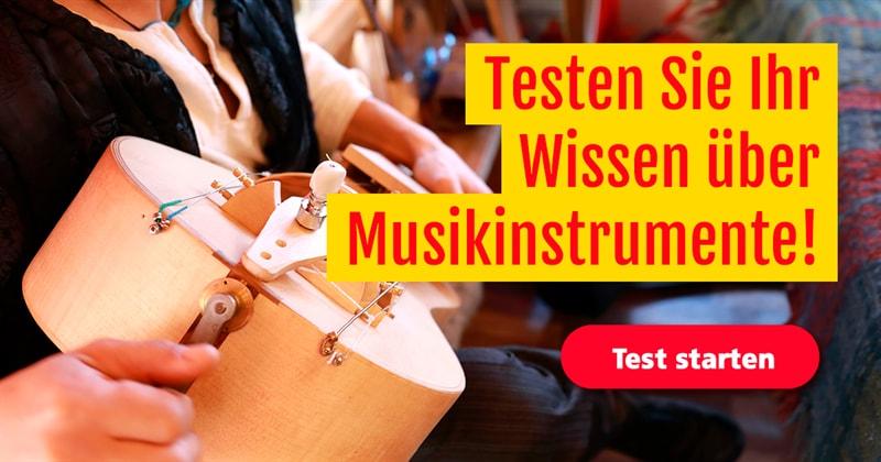 Musik Quiz-Test: Wie gut kennen Sie sich mit Musikinstrumenten aus?
