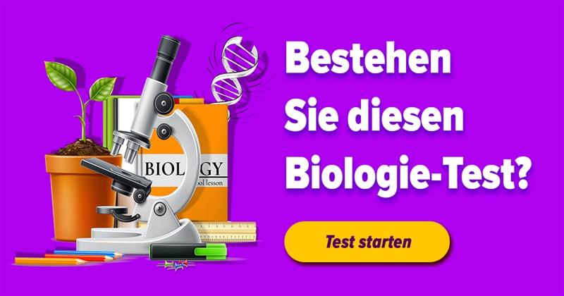 Natur Quiz-Test: Biologie-Test