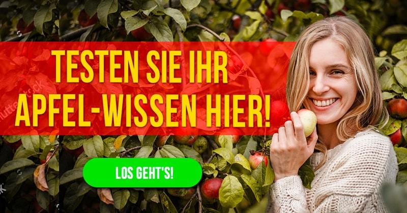Natur Quiz-Test: Das große Apfelquiz