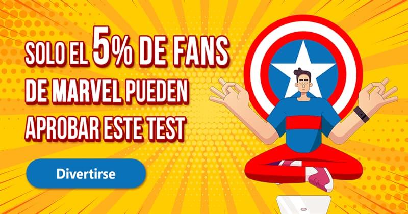 Películas y TV Quiz Test: Solo el 5% de fans de Marvel pueden aprobar este test