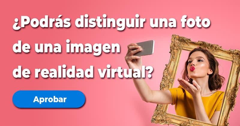 visión Quiz Test: ¿Podrás distinguir una foto de una imagen de realidad virtual?
