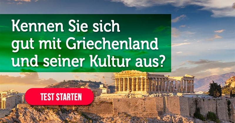Geographie Quiz-Test: Griechenland-Quiz