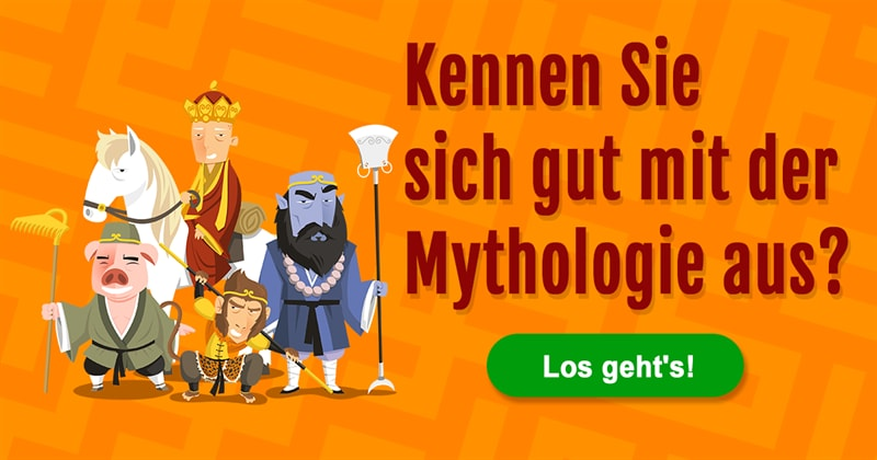 Kultur Quiz-Test: Mythologische Götter