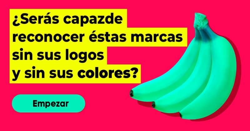 Personalidad Quiz Test: ¿Serás capaz de reconocer éstas marcas sin sus logos y sin sus colores?