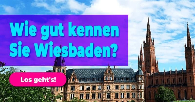 Geographie Quiz-Test: Wiesbaden-Quiz