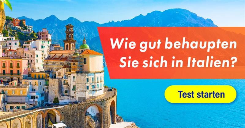 Geographie Quiz-Test: Italien-Quiz